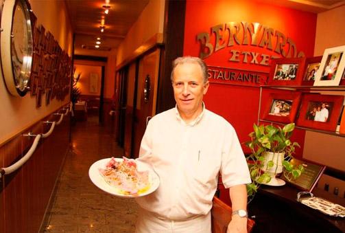 Bernardo Etxea, Gastronomía de primera en la Parte Vieja donostiarra