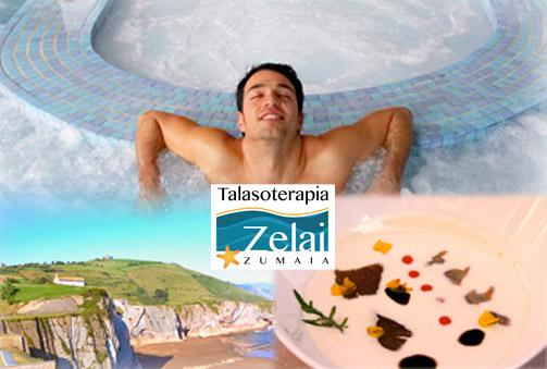 (Zumaia) Bienestar y gastronomía al borde del mar. Circuito talaso relax y menú gastronómico en Zumaia